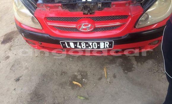 Comprar Usado Hyundai Getz Vermelho Carro em Luanda em Luanda Province