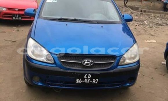 Comprar Usado Hyundai Getz Azul Carro em Luanda em Luanda Province
